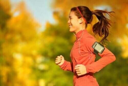 WaRu-metoden: kvinna joggar