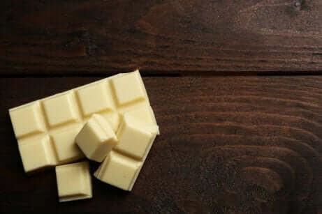 den nyttigaste chokladen: vit choklad