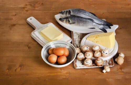 livsmedel rika på vitamin D