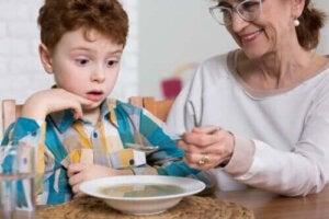 Ätstörningar hos autistiska barn
