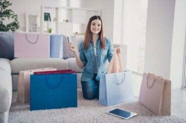 4 tecken på att du är beroende av shopping