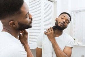 Fel vid rakning och efterföljande hudvård