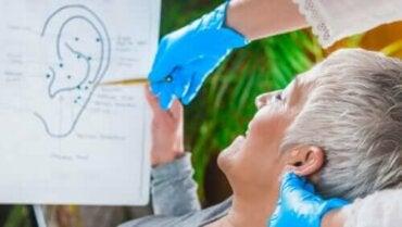 Vagusnerven vid örat: stimulera den för att minska obehag