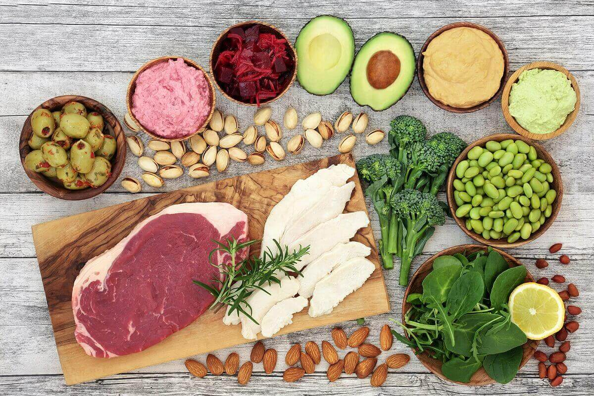 Hälsosamma ingredienser är en bra bas.