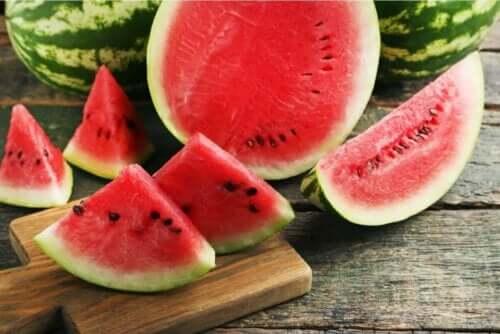 frukt du ska äta under sommaren: vattenmelon
