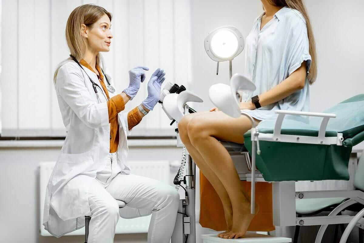 Inducerad abort hos gynekolog