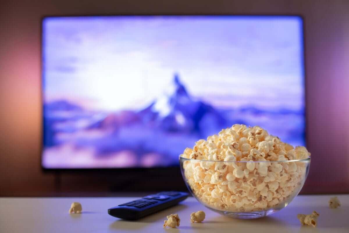 popcorn och film