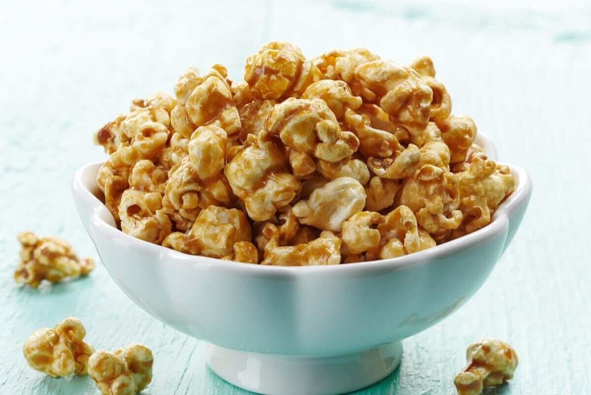 nyttiga och goda popcorn