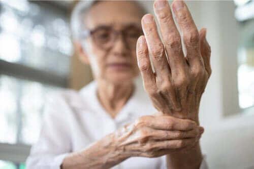 Behandling av inflammation i senskidan