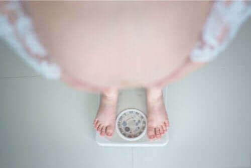 Svårigheterna med fetma under graviditeten