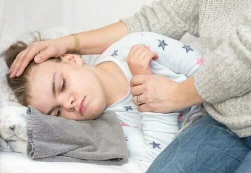 Epilepsi hos barn: barn som har anfall