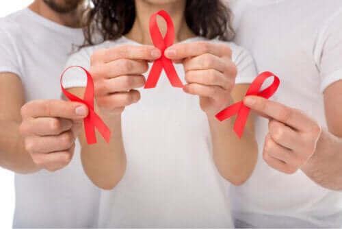 Symptomen på smitta av humant immunbristvirus (HIV)