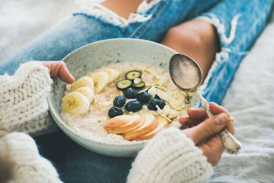 havregryn till frukost