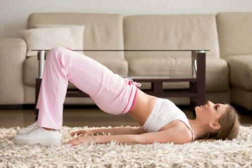 Övningar för skolios