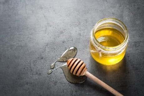 Honungssirap med citron.