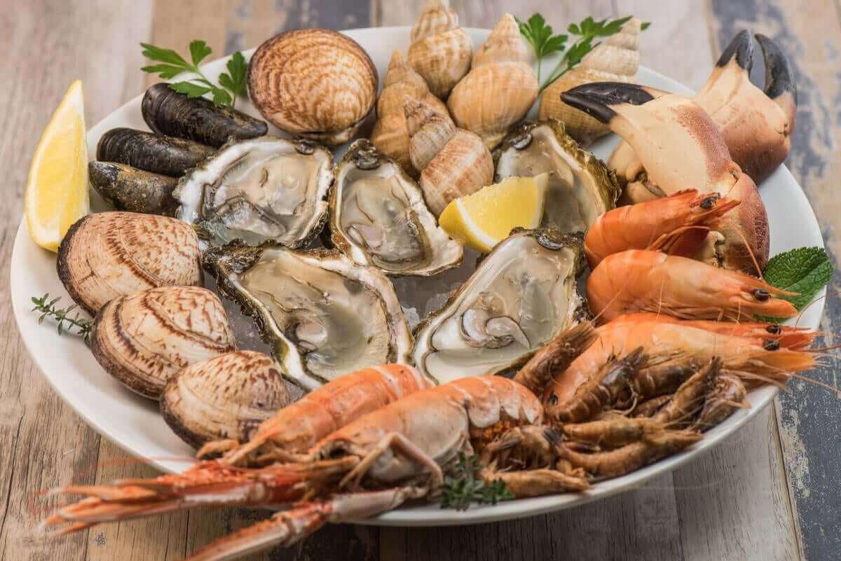 allergi mot skaldjur på fat