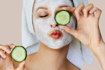 Vilken verkan har ansiktsmasker på huden?