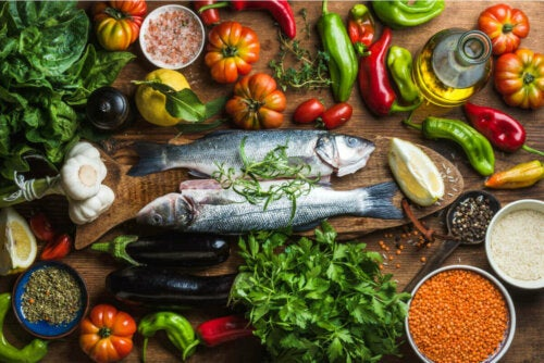 mat som motverkar Åldrande av immunsystemet