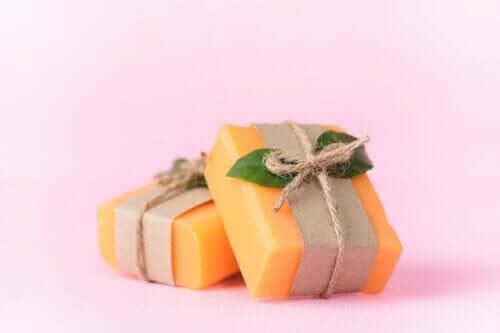 användning av papayatvål
