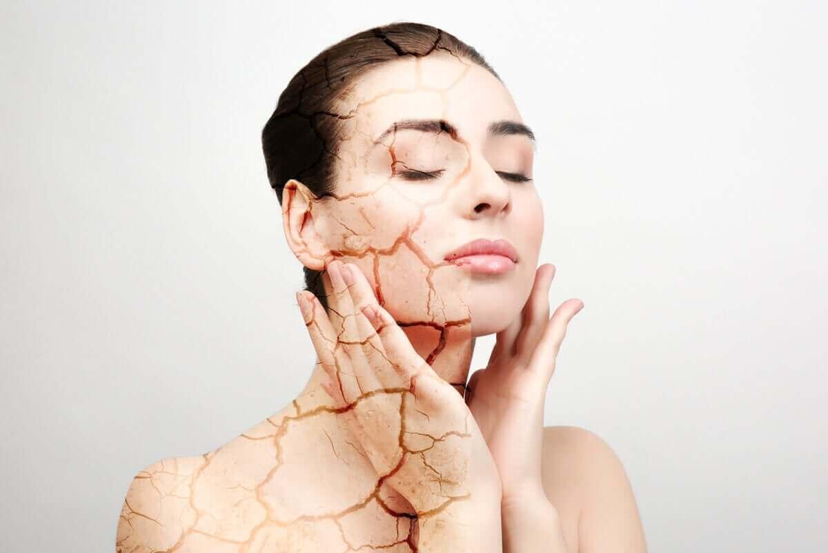 orsakerna till torr hud