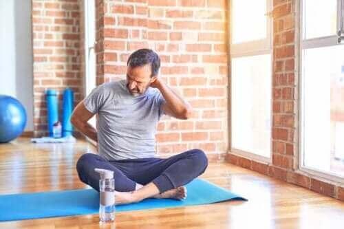 Övningar du bör undvika om du tränar med diskbråck
