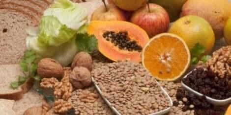 Ät många typer av nyttiga fibrer.