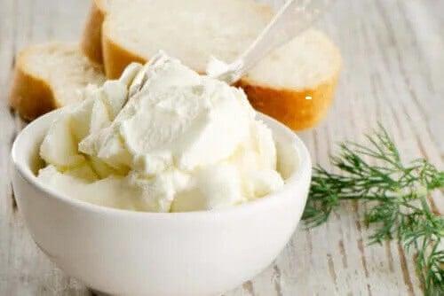 Är cream cheese nyttigt?