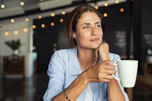 Kaffedrickande på ett hälsosamt sätt