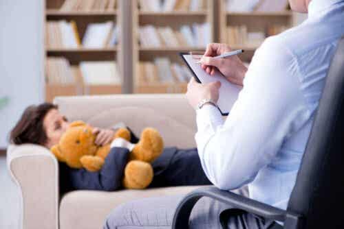 Ett barn i terapi