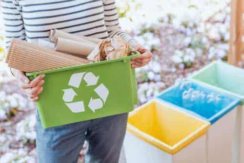 återvinning av plast