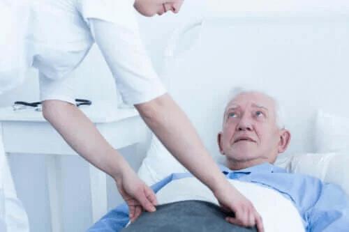 De olika stadierna av trycksår och deras behandling