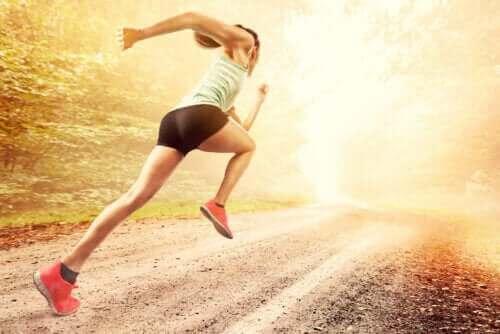 Testa sprintövningar för att förbättra din löphastighet