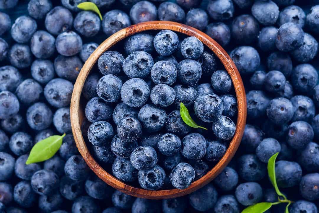 Det finns inte många matvaror med blå färg